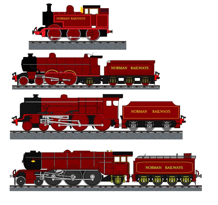 Norman Rail, part 1 by soundwave3591