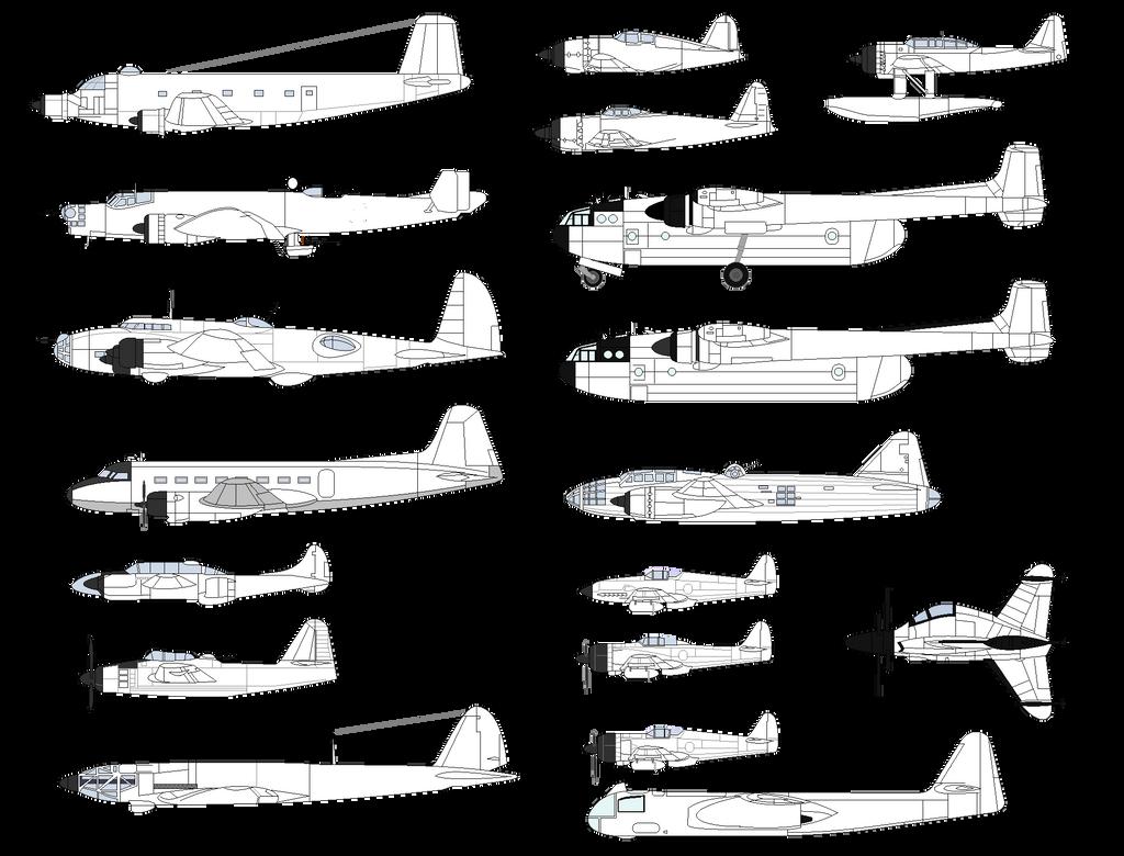 Line Drawing Jet : Airplane line drawings