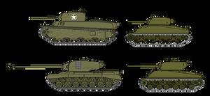 US Heavy Tanks