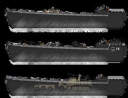 TL Ostafrika Landing craft by Soundwave3591