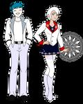 MM! AU: Poseidon Vasilias and Bianca Schnee