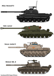 MM! AU: 2nd great War Tanks