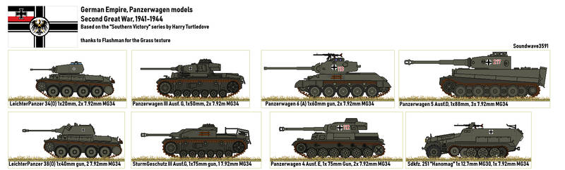 TL191 German Panzers by Soundwave3591