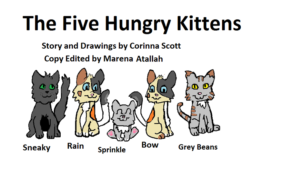 The Five Hungry Kittens by CorinnaAngela