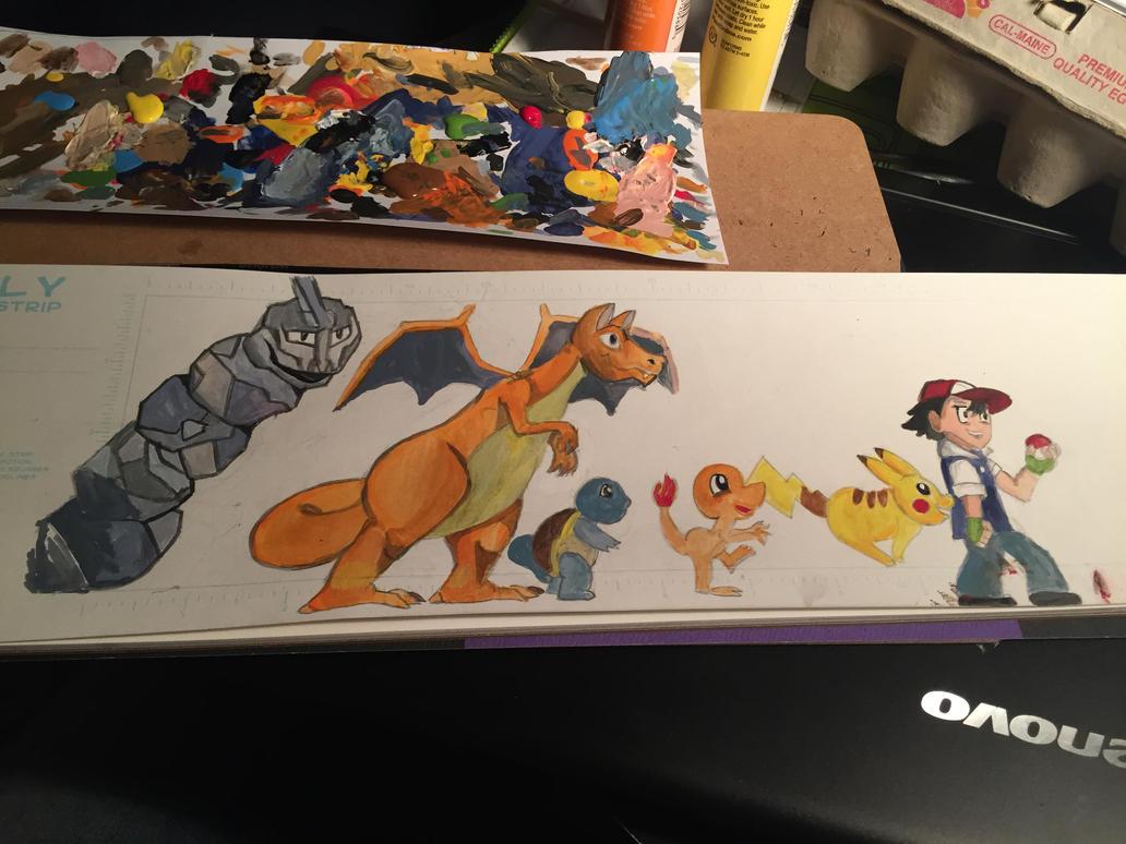 Pokemon drawing by CorinnaAngela