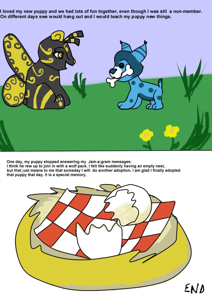 Animal Jam Stories Kitten Smitten Panel Three by CorinnaAngela