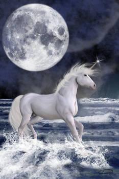 The Unicorn Under The Moon