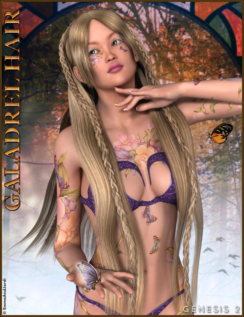 Galadrel Hair by emmaalvarez