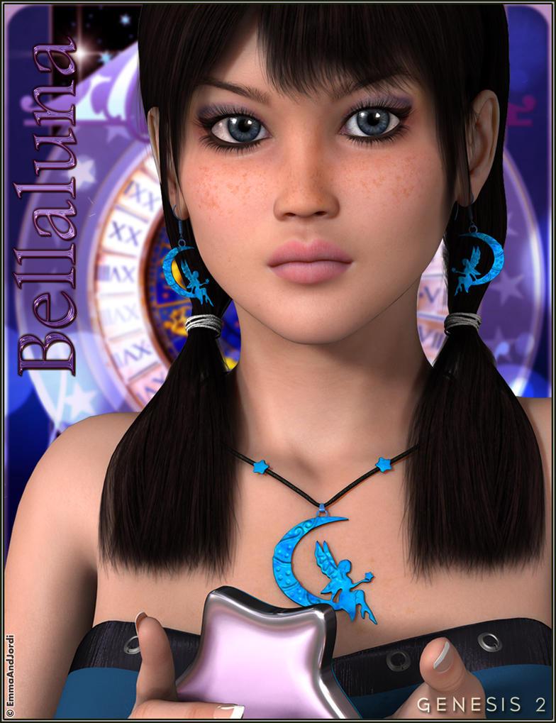 EJ Bellaluna and Moonchild Jewels by emmaalvarez