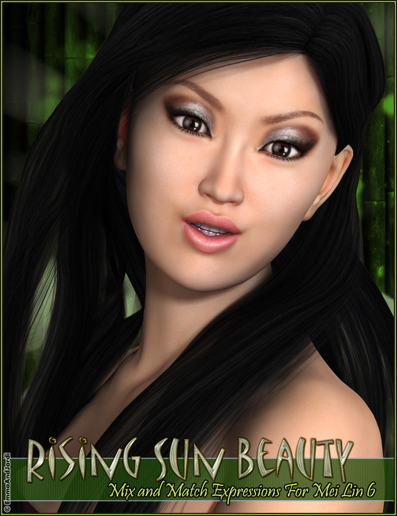 Rising Sun Beauty MixNMatch Expressions For MeiLin by emmaalvarez