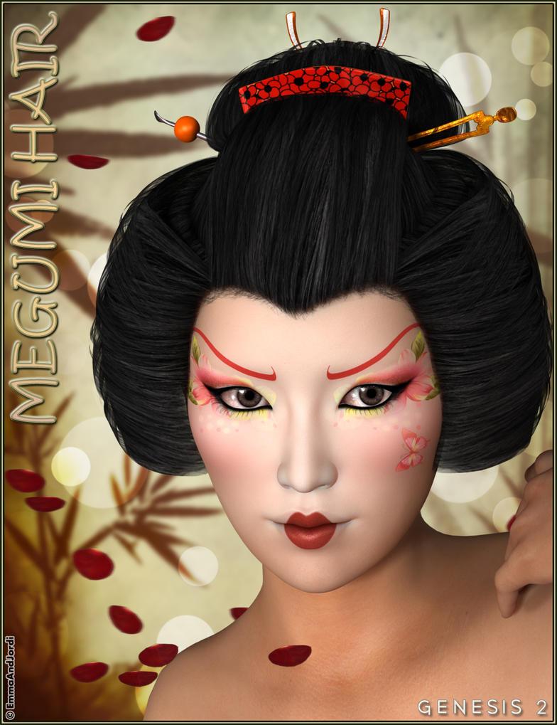 Megumi Hair by emmaalvarez