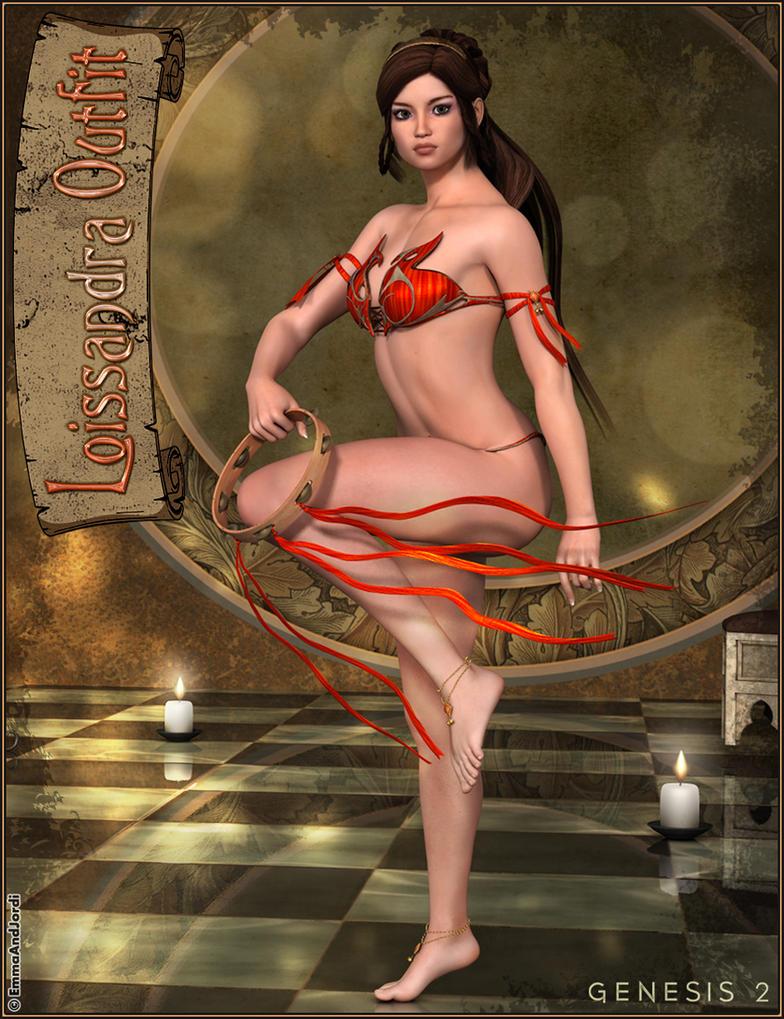 Loissandra Fantasy Outfit by emmaalvarez