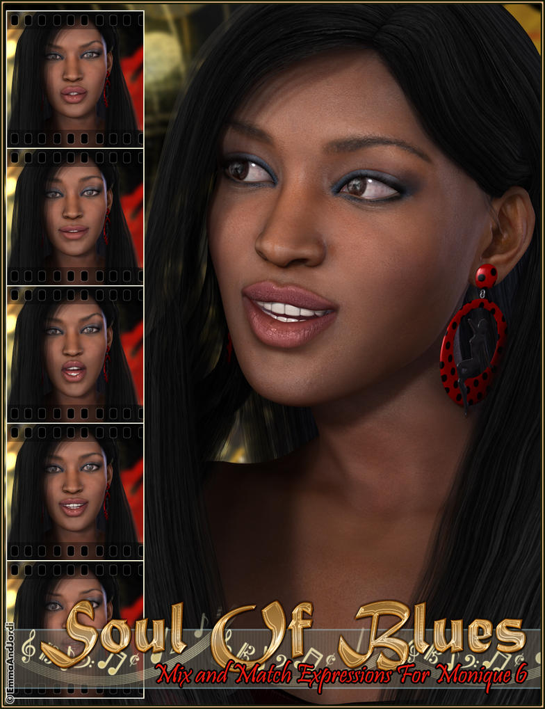 Soul Of Blues Mix and Match Expressions by emmaalvarez