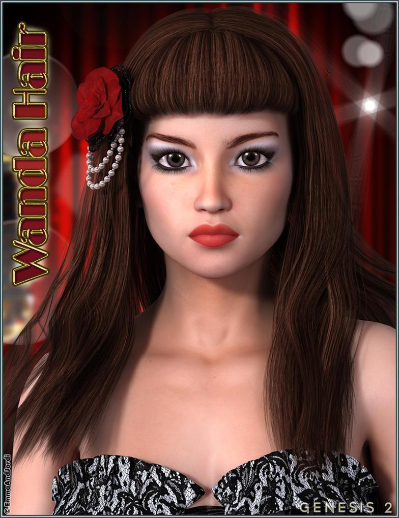 Wanda Hair by emmaalvarez