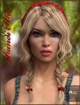 Shandi Hair for Genesis 3 Female