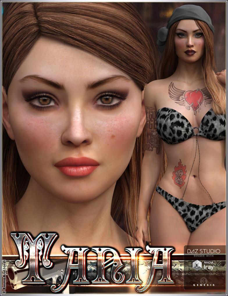 EJ Tania For Genesis 3 Female by emmaalvarez