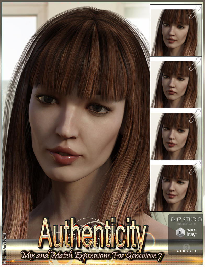 Authenticity Mix'n'Match Expressions by emmaalvarez