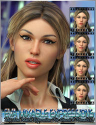 Eva Mixable Expressions for Genesis 8 Female(s) by emmaalvarez