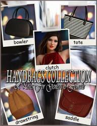 EJ Handbags Collection and Poses for Genesis 8 by emmaalvarez