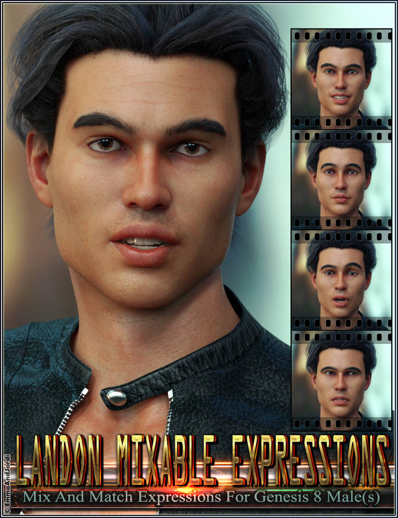 Mixable Expressions for Landon 8 and Genesis 8 by emmaalvarez