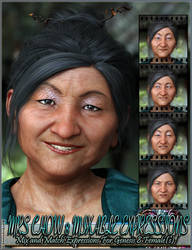 Mixable Expressions for Mrs Chow 8 and Genesis 8 F by emmaalvarez