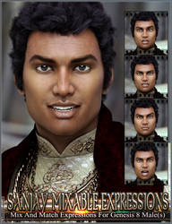 Mixable Expressions for Sanjay 8 and Genesis 8 M