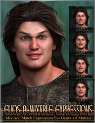 Mixable Expressions for Elios 8 and Genesis 8 Male