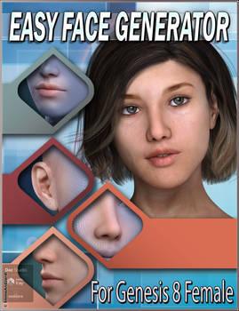 EJ Easy Face Generator For Genesis 8 Females