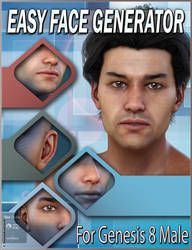 EJ Easy Face Generator For Genesis 8 Male(s)