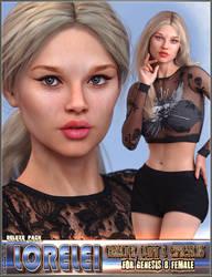 EJ Lorelei Deluxe Pack For Genesis 8 Female
