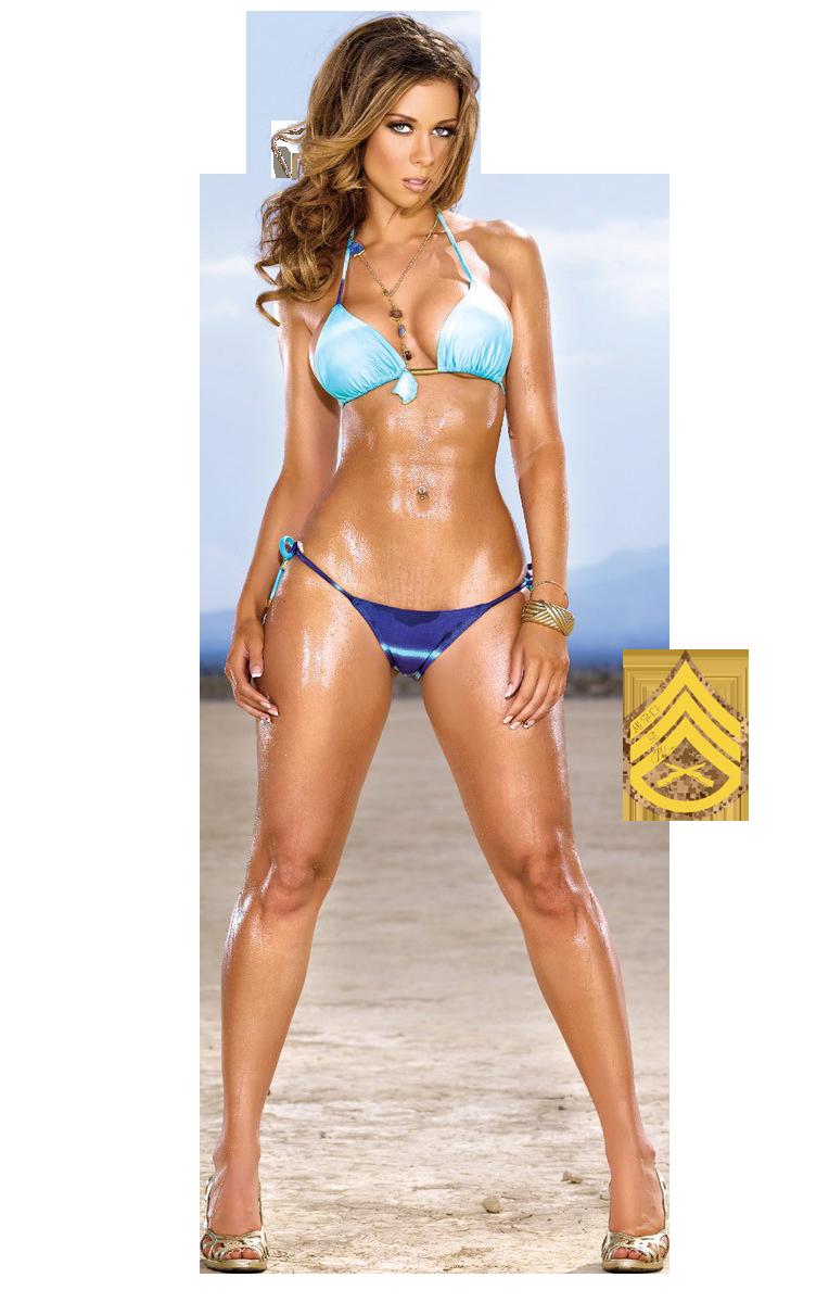 Transparent bikini