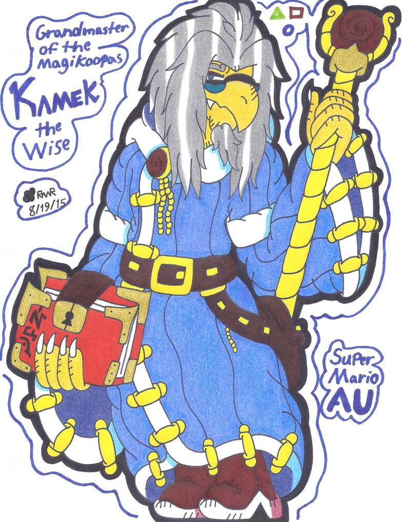 Kamek The Wise by ShyDeathKitty