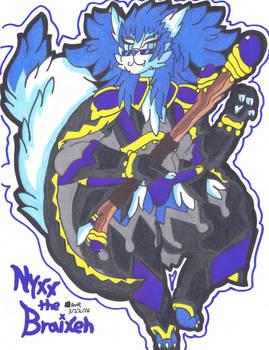 Nyxx The Braixen