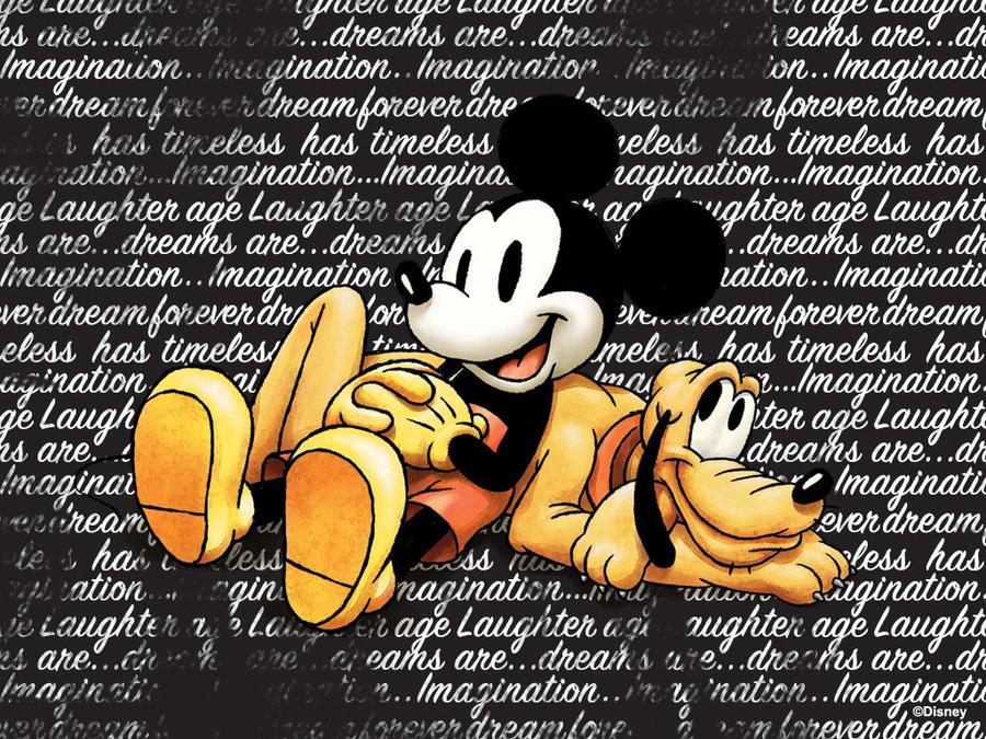 900x675px vintage mickey mouse wallpaper wallpapersafari - Mickey mouse retro wallpaper ...