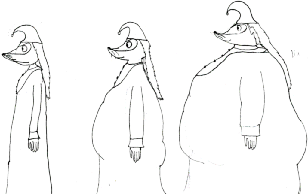 Fillyjonk Weight Gain Sequence SKETCH By Wojti2000 On