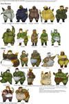 World War II Fat Furry Girls