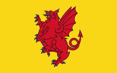 Fat Flags #3 - Somerset, UK