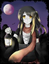 Dark halloween by Ailish-Lollipop
