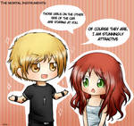 TMI: Clary and Jace