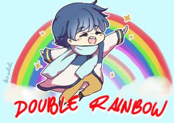 Double Rainbow 2.0 by Ailish-Lollipop