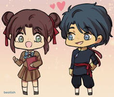 Miaka and Tamahome