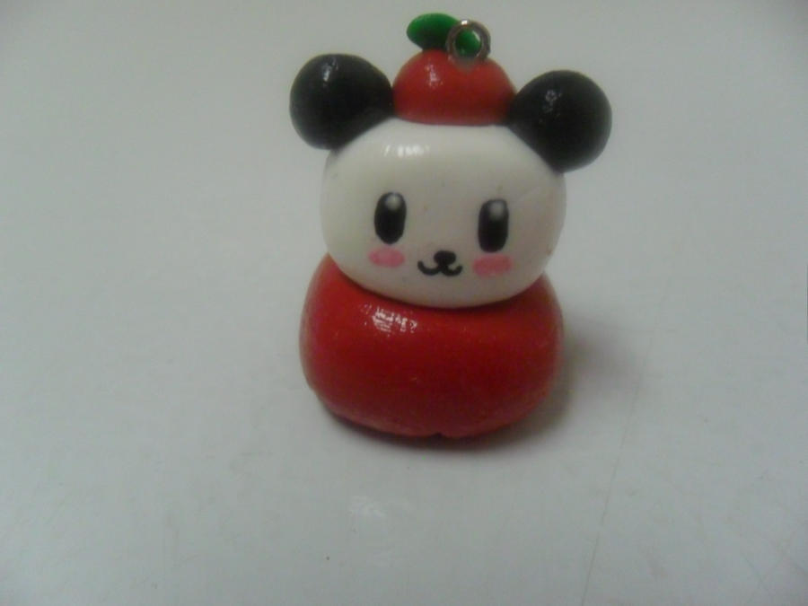 Pandapple Charm by Moroboshist