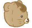 Brown Bear right profile by Moroboshist