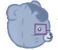 Nerdy Bear right profile by Moroboshist