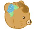 Tropical Bear right profile by Moroboshist