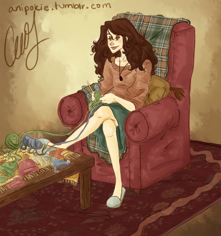 Oh, Hermione... by AniPokie