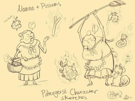 Nanna+Pussums [Poltergeist]