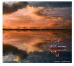 sunset  mirror by bracketting94