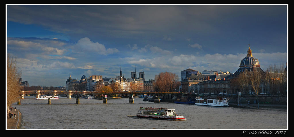 La Seine by bracketting94