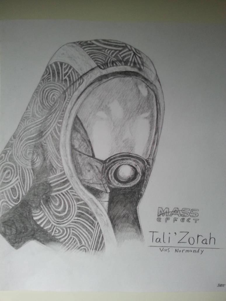 Mass Effect - Tali'Zorah vas Normandy